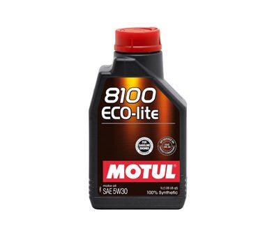 Моторное масло Motul 8100 Eco-lite 5W30 5л - фото 9