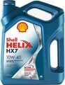 Моторное масло Shell Helix HX7 10w40 4л